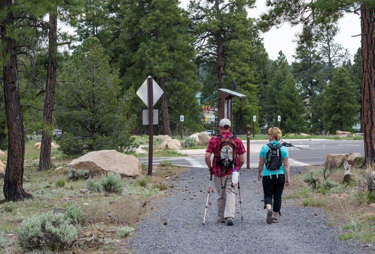 Tusayan Hikers